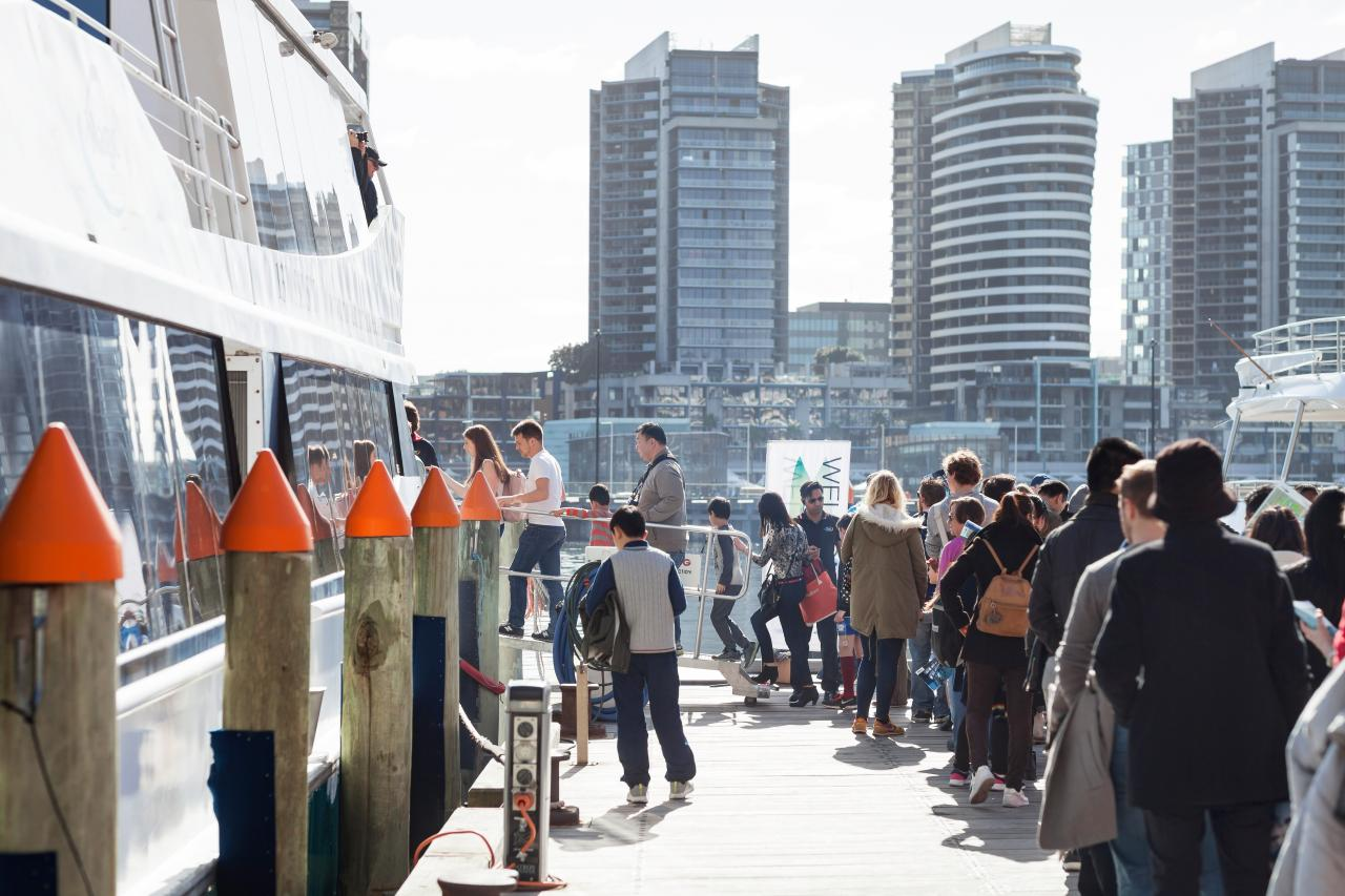Port of Melbourne Boat Tour, Open House Melbourne Weekend 2017