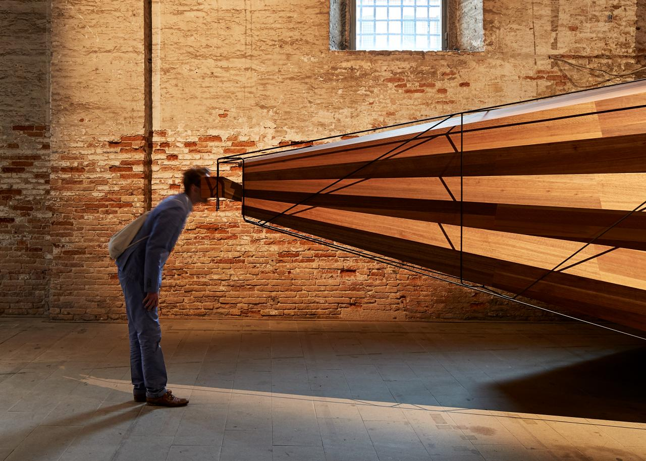 Somewhere Other by John Wardle Architects at the 16th International Architecture Exhibition, Venice Biennale, 2018