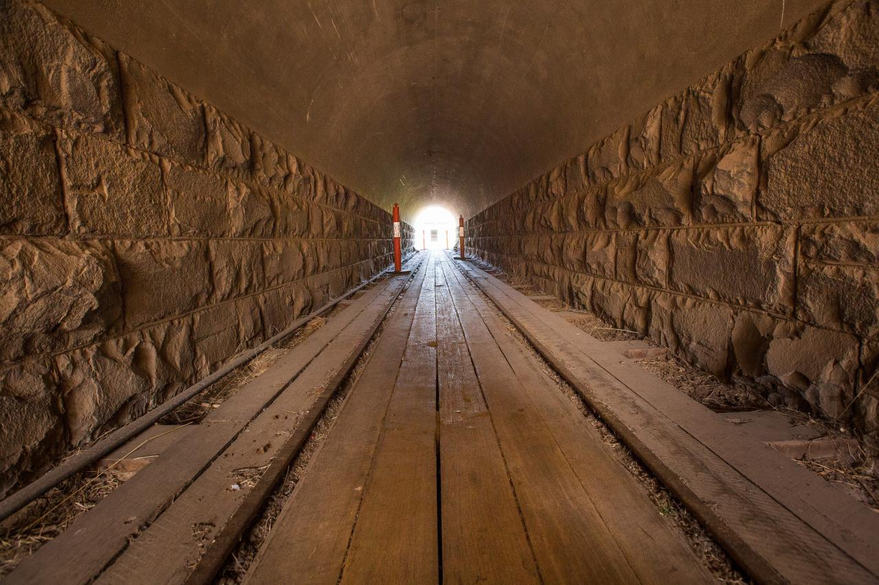 Jack's Magazine West Tunnel. Photo: Peter Casamento