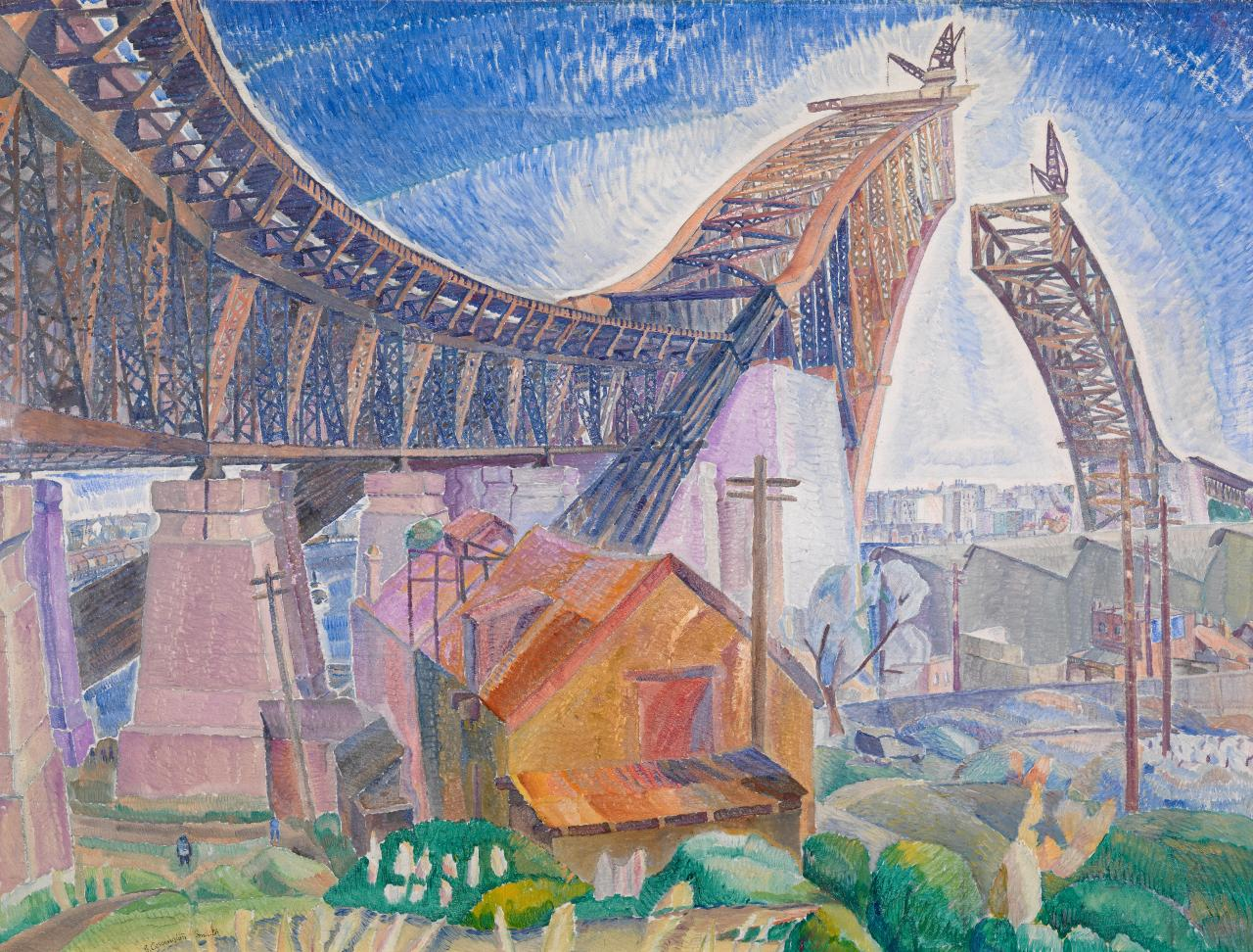 Grace Cossington SMITH The Bridge in-curve (1930)