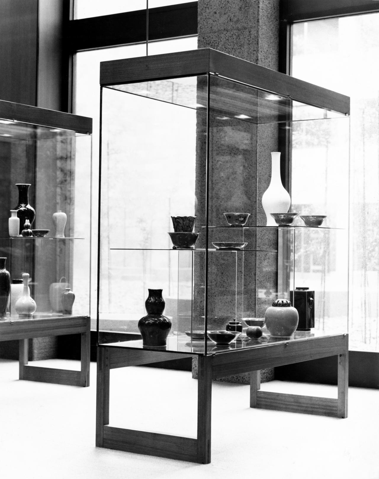 1 Display Cases, Internal Lighting And Display Furnishings, Oriental Gallery,  NGV Home Design Ideas