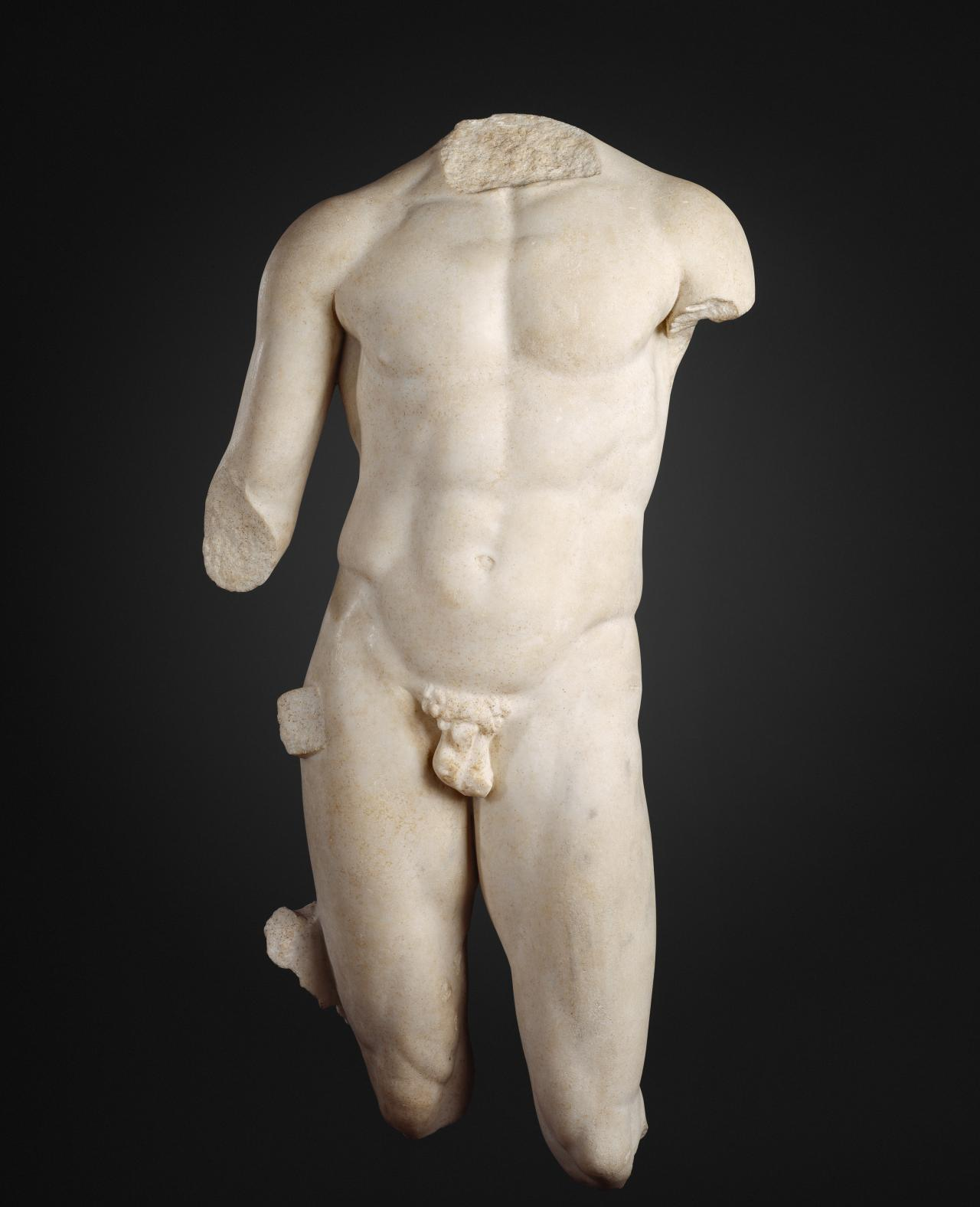 GREECE / ITALY Torso of an athlete 1st century BCE-1st century CE