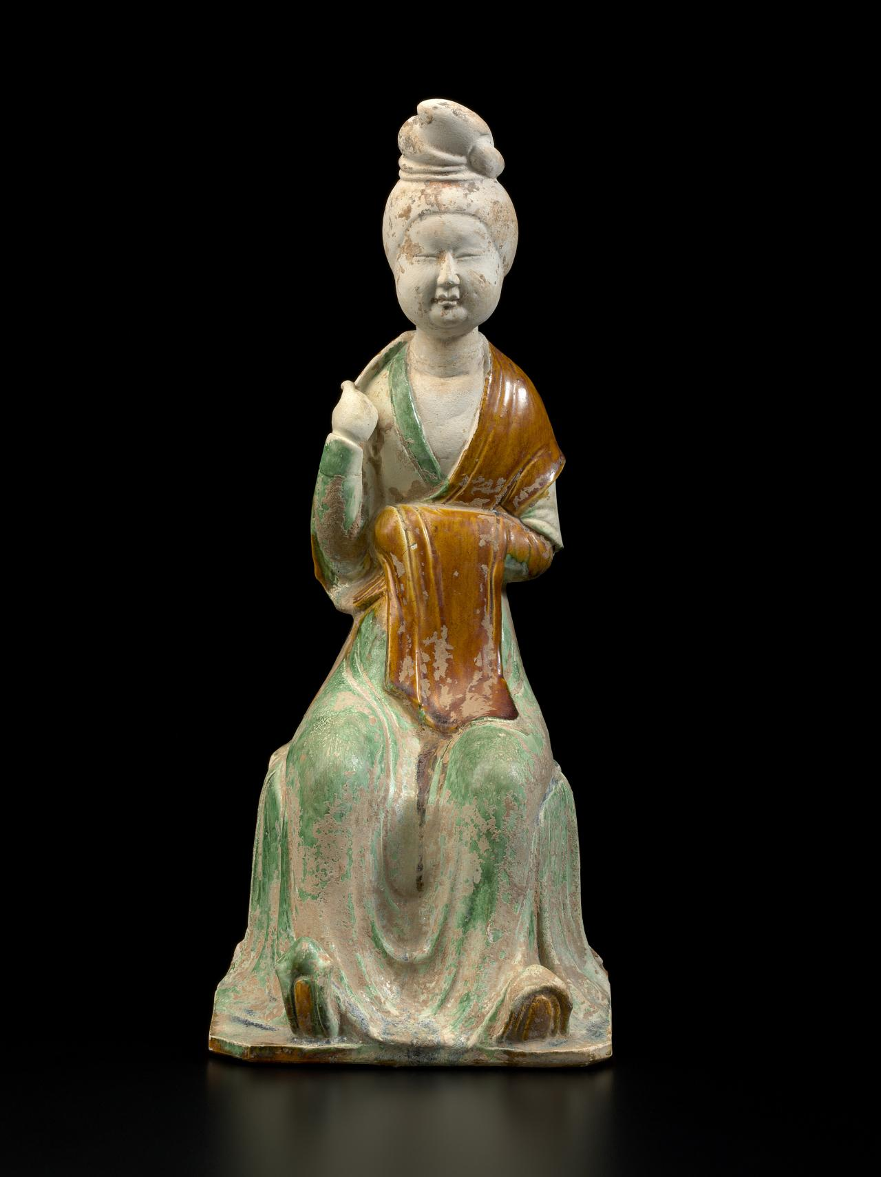 CHINESE Seated female 700 CE-750 CE