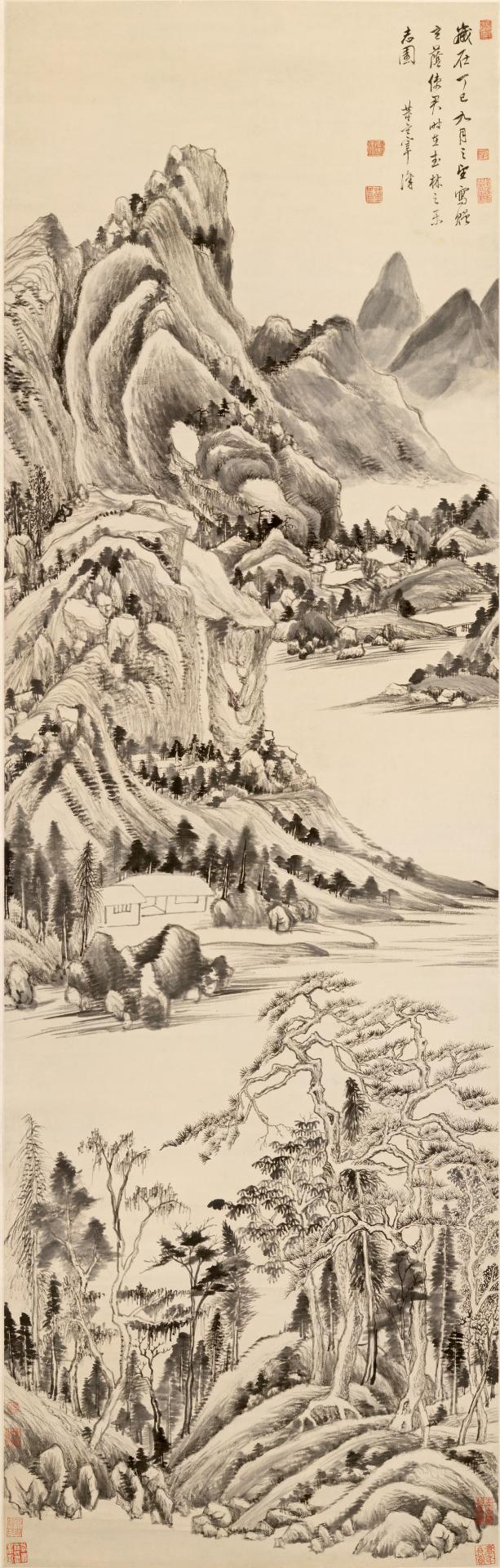 DONG Qichang Mountain landscape 1617