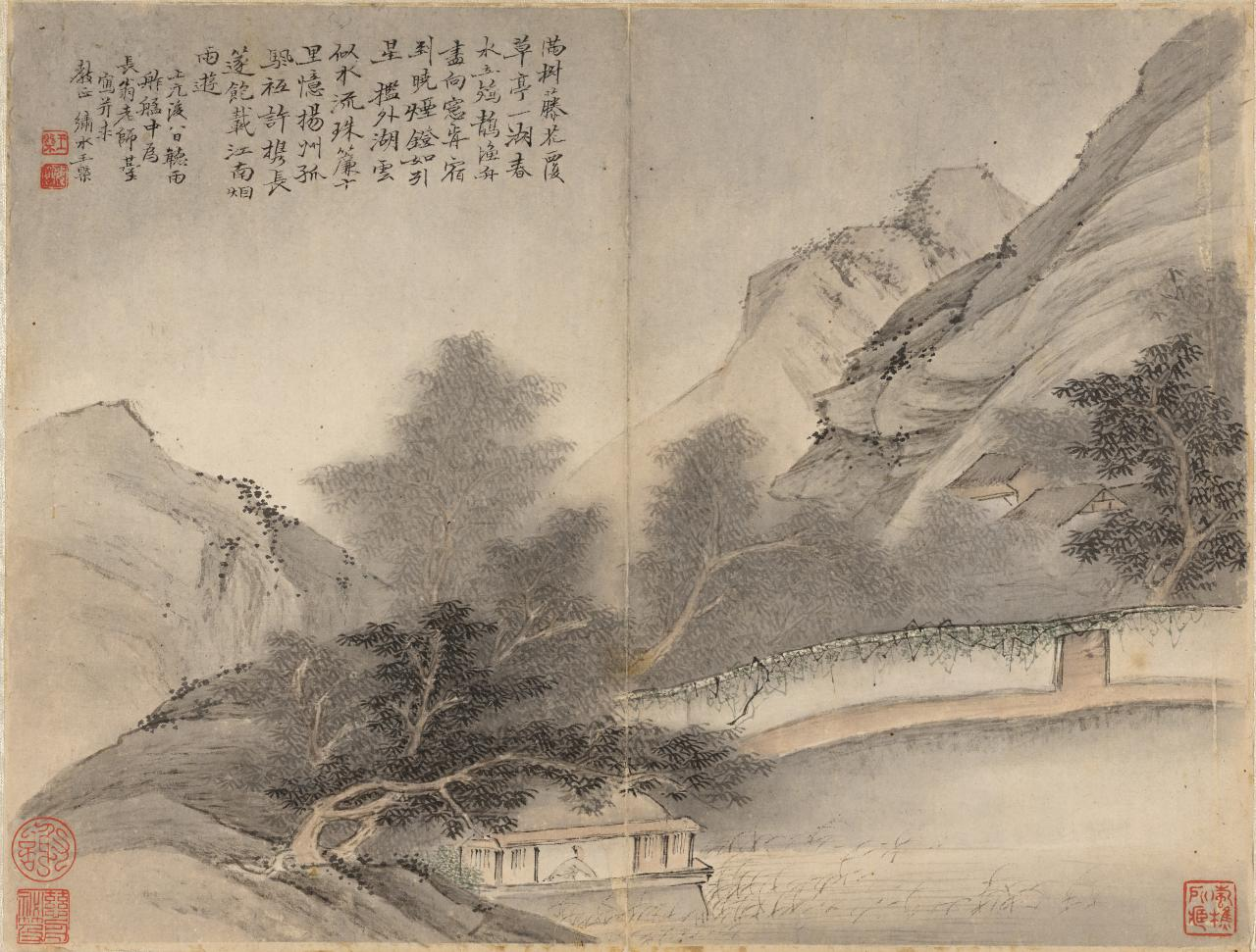 WANG Gai Landscape (17th century)
