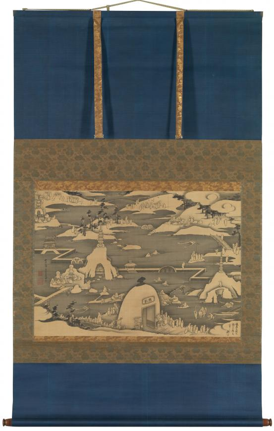 Itō JAKUCHŪ Five hundred arhats 1789