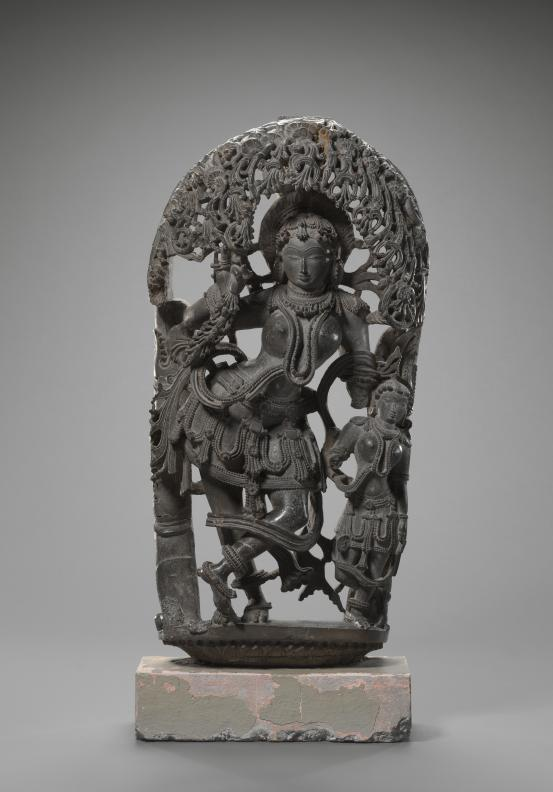 INDIAN Tree goddess, Salabhanjika (1150-1200)