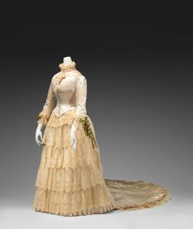 UNKNOWN, Australia Wedding dress 1885