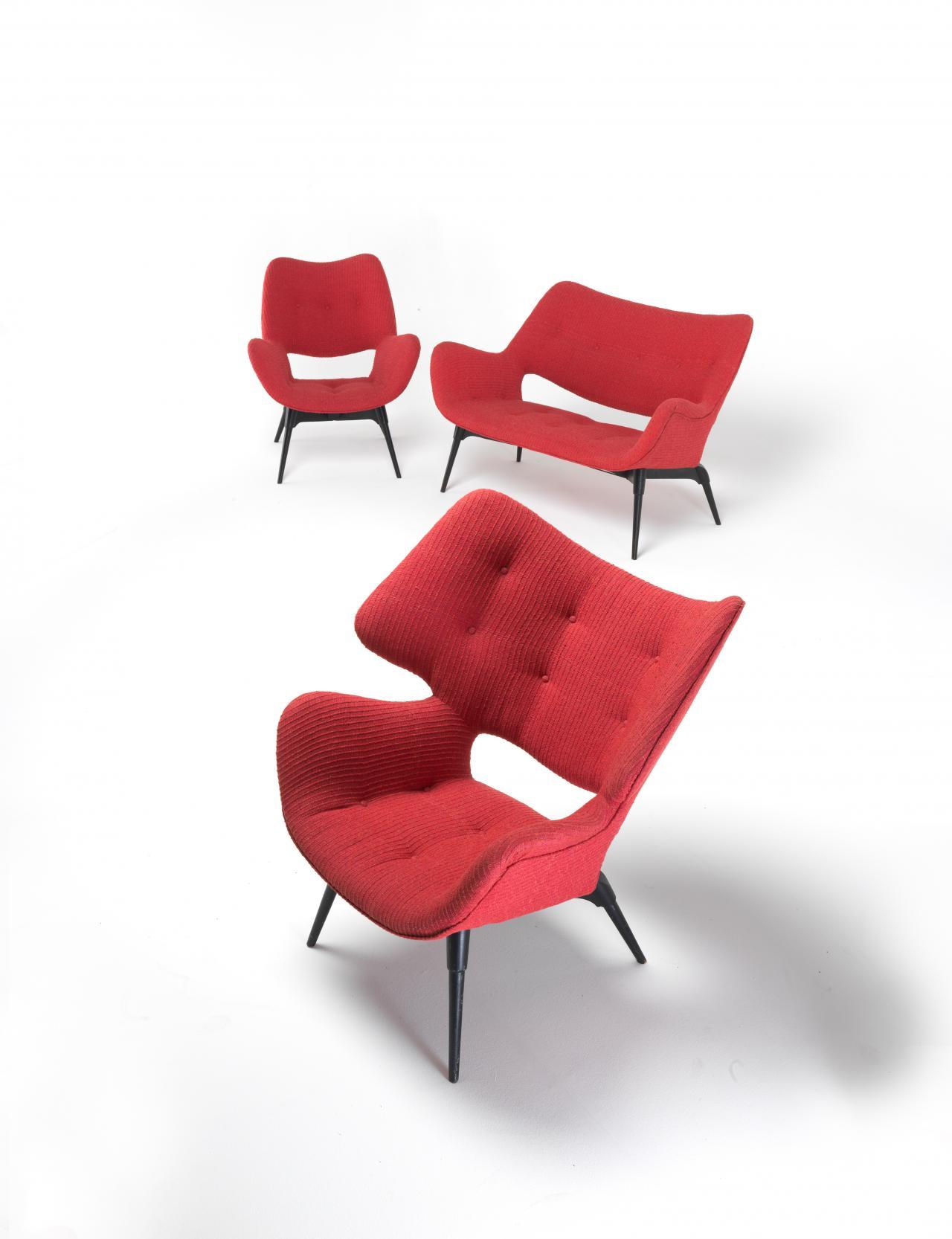Image of: Mid Century Modern Australian Furniture Design Ngv