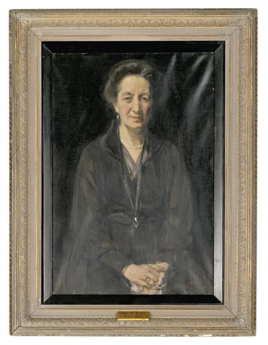 James QUINN Lady in black 1920