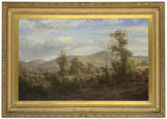 Louis BUVELOT Between Tallarook and Yea 1880