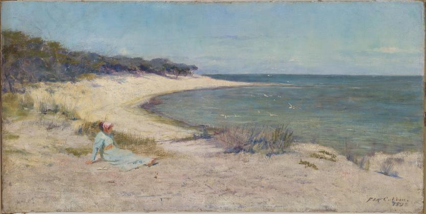 Summer Sea Frederick Mccubbin Ngv View Work