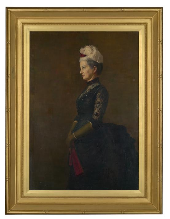 Tom ROBERTS Madame Pfund (1887)