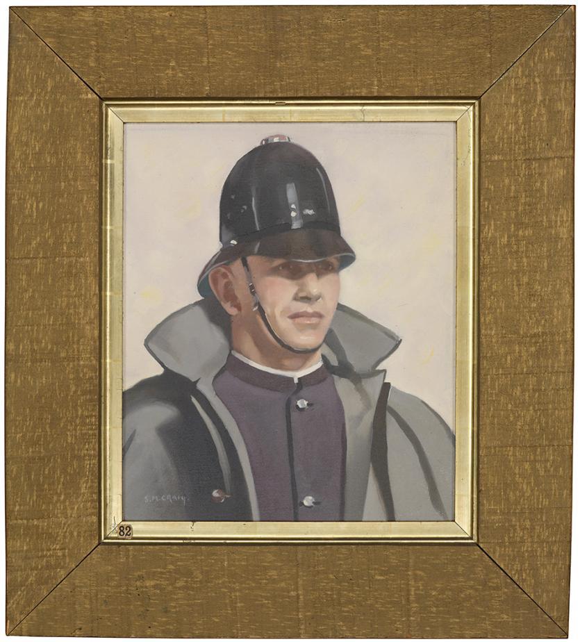 Victorian constable | Sybil CRAIG | NGV | View Work