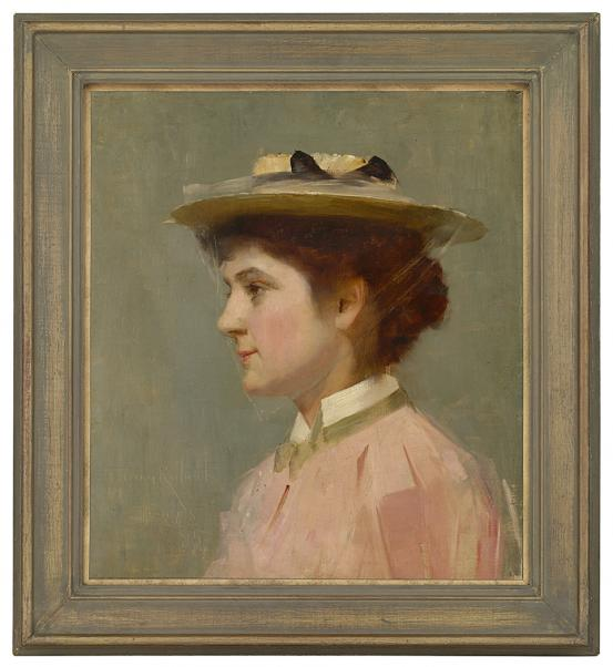 Tom ROBERTS Miss Isobel McDonald 1895