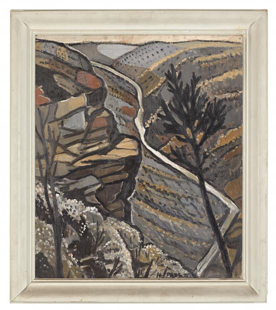 Margaret PRESTON Shoalhaven Gorge, New South Wales (1940-1941)