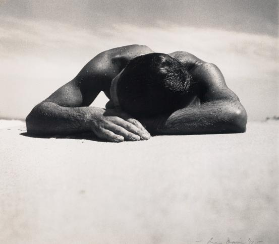 Max DUPAIN Sunbaker (1938); 1937 {dated}; (c. 1975) {printed}