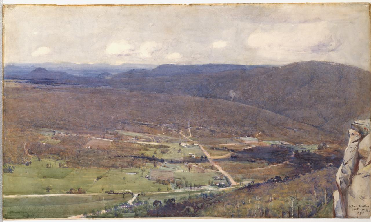 Arthur STREETON The Vale of Mittagong 1892