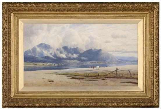 John MATHER Lake Omeo, North Gippsland 1891