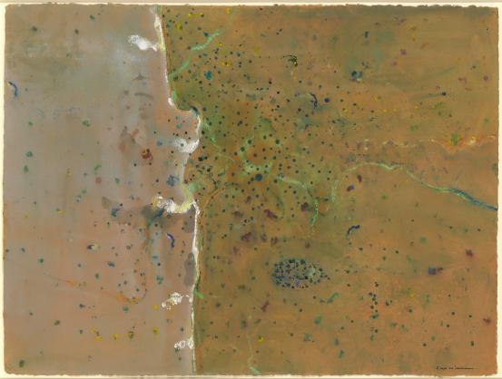 Fred WILLIAMS Cape York bushfire (2) (1977)