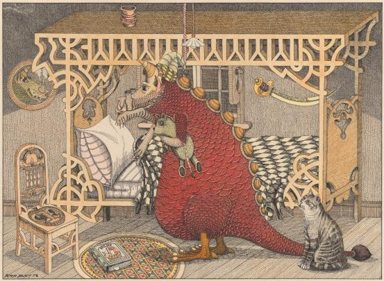 Peter PAVEY (Dragon going to bed) 1978
