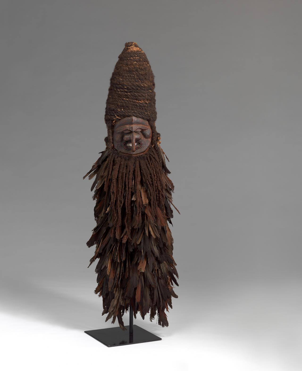 Kanak people, Central Grande Terre Island, New Caledonia Water spirit or Costume mask mid 19th century