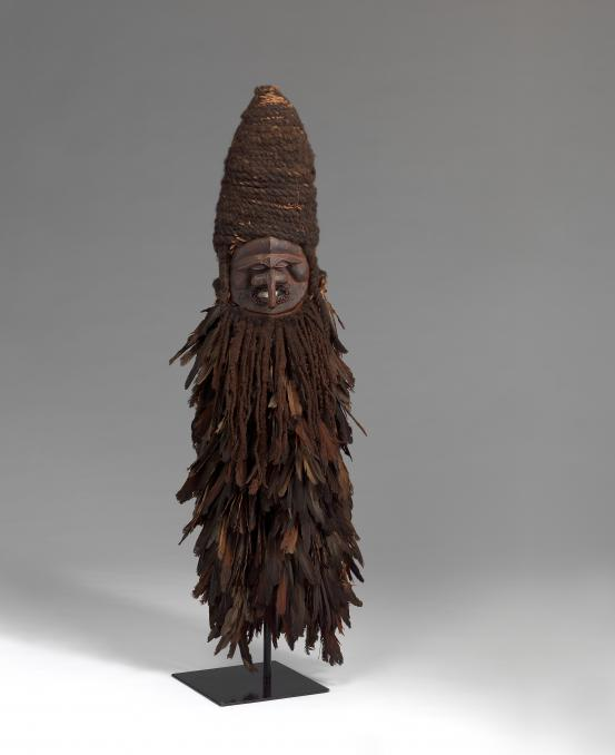 "Kanak people, Central Grande Terre Island, New Caledonia Water spirit or ""Costume mask"" mid 19th century"
