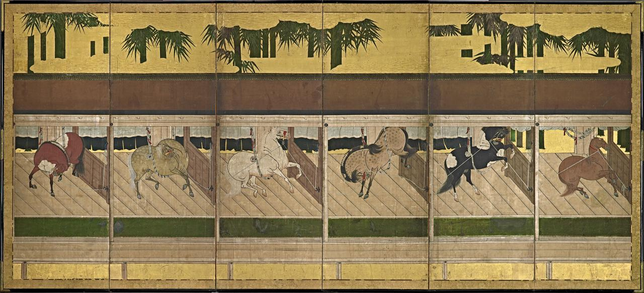 Japanese Horse stable