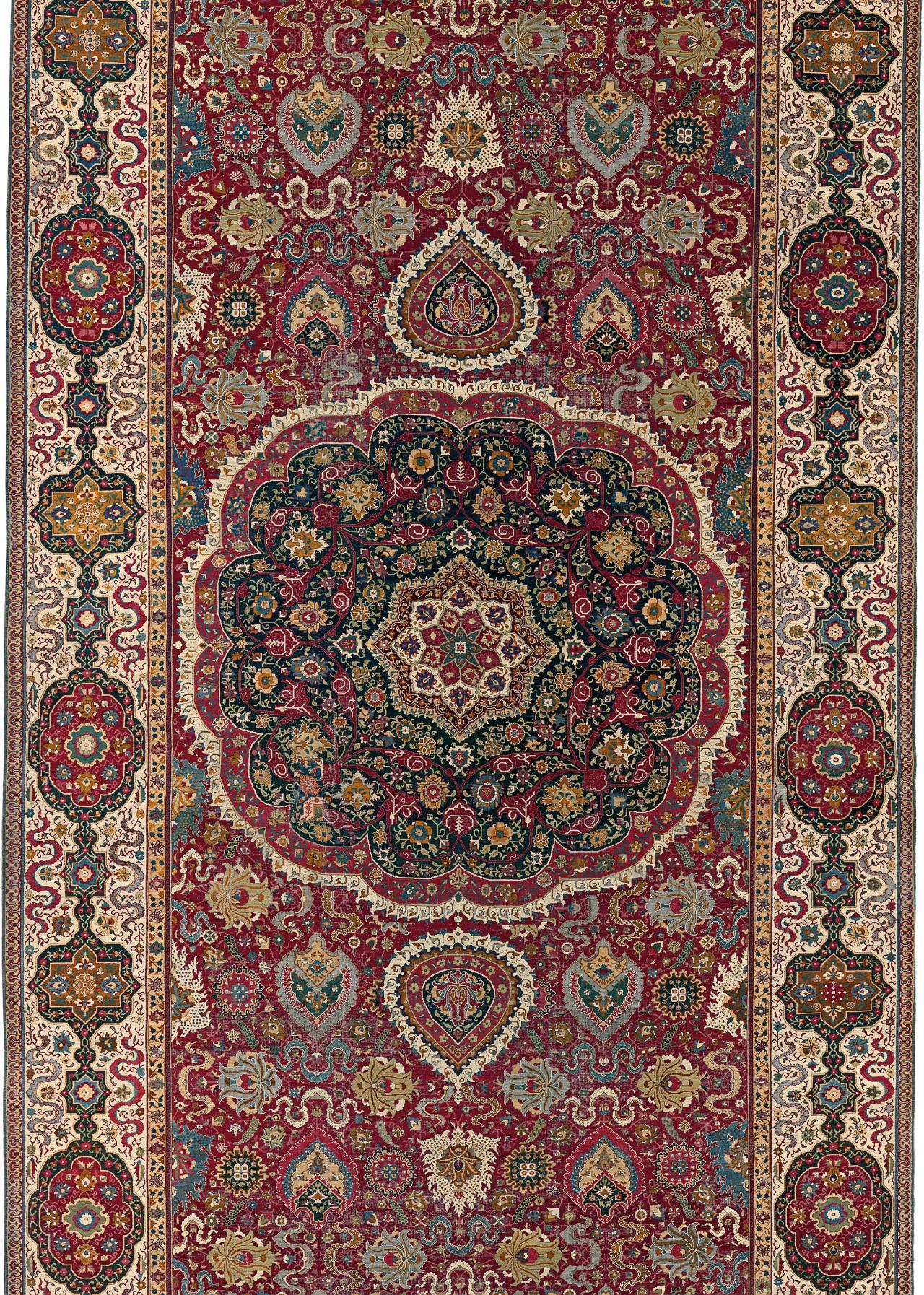 The Trinitarias Carpet Early Masterpiece Or Modern