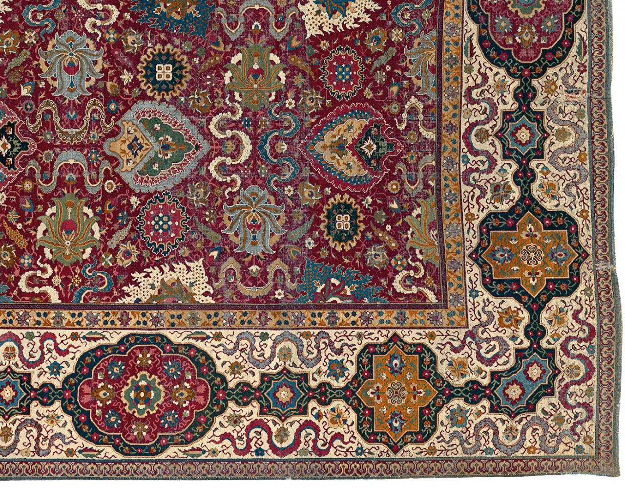 The Trinitarias Carpet Early Masterpiece Or Modern Reproduction Ngv 120 Motif Real Madrid