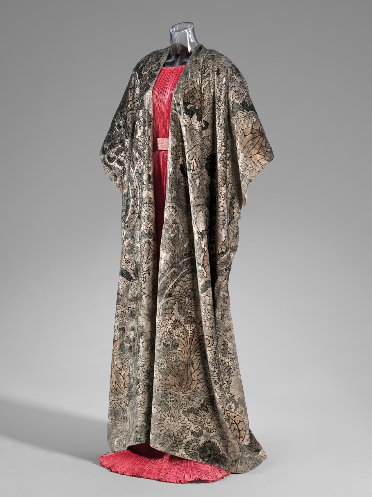 Mariano Fortuny Coat Ngv