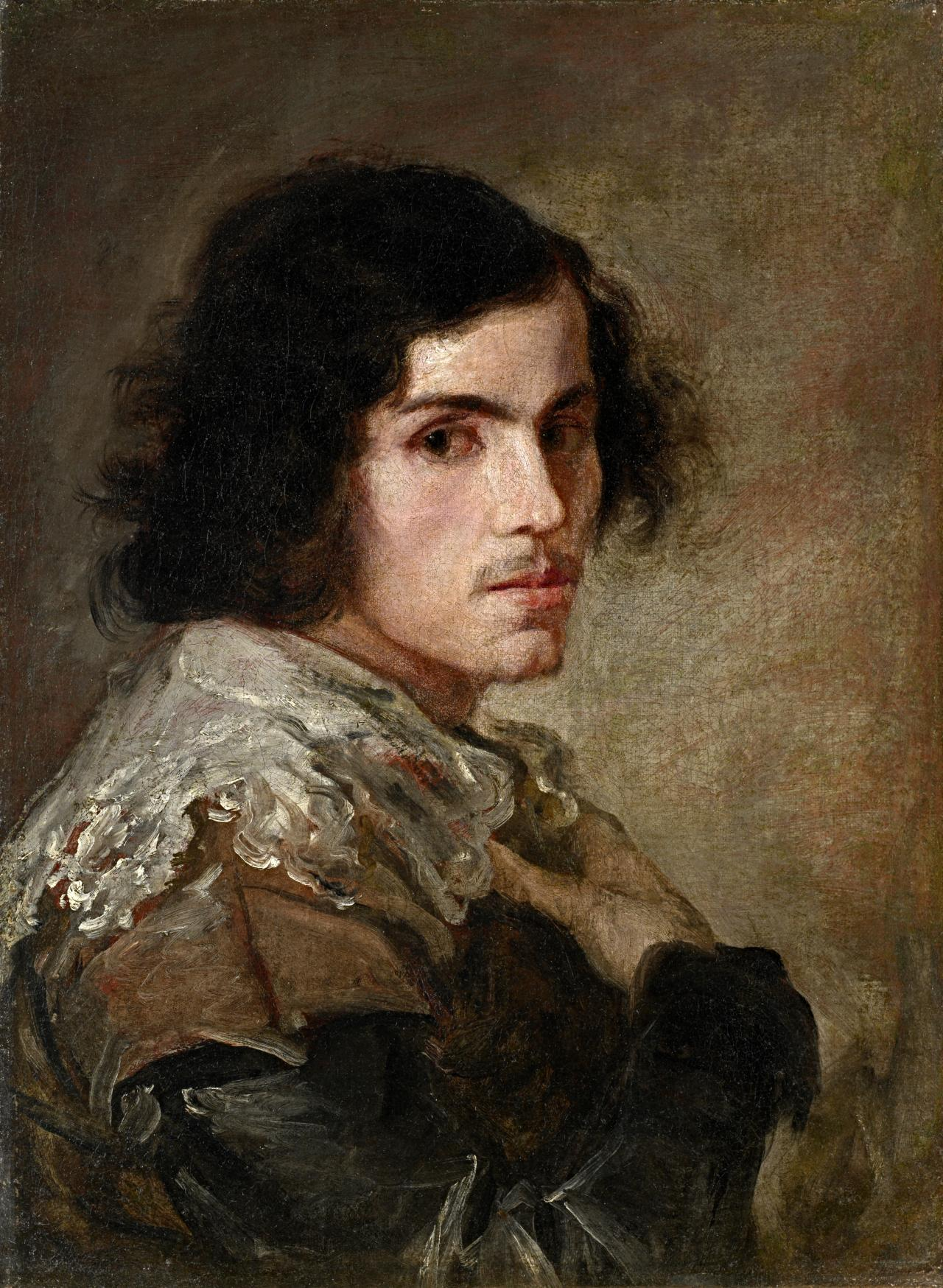 fig. 1 ?Spanish Portrait of a Young Man c.1650 oil on canvas 57.0 x 42 ...