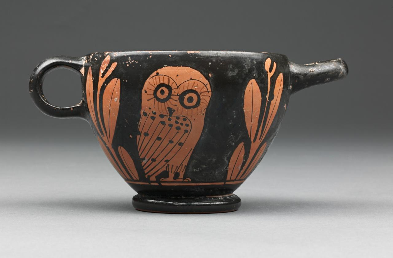 The Owls Of Athena Some Comments On Owl Skyphoi And Their