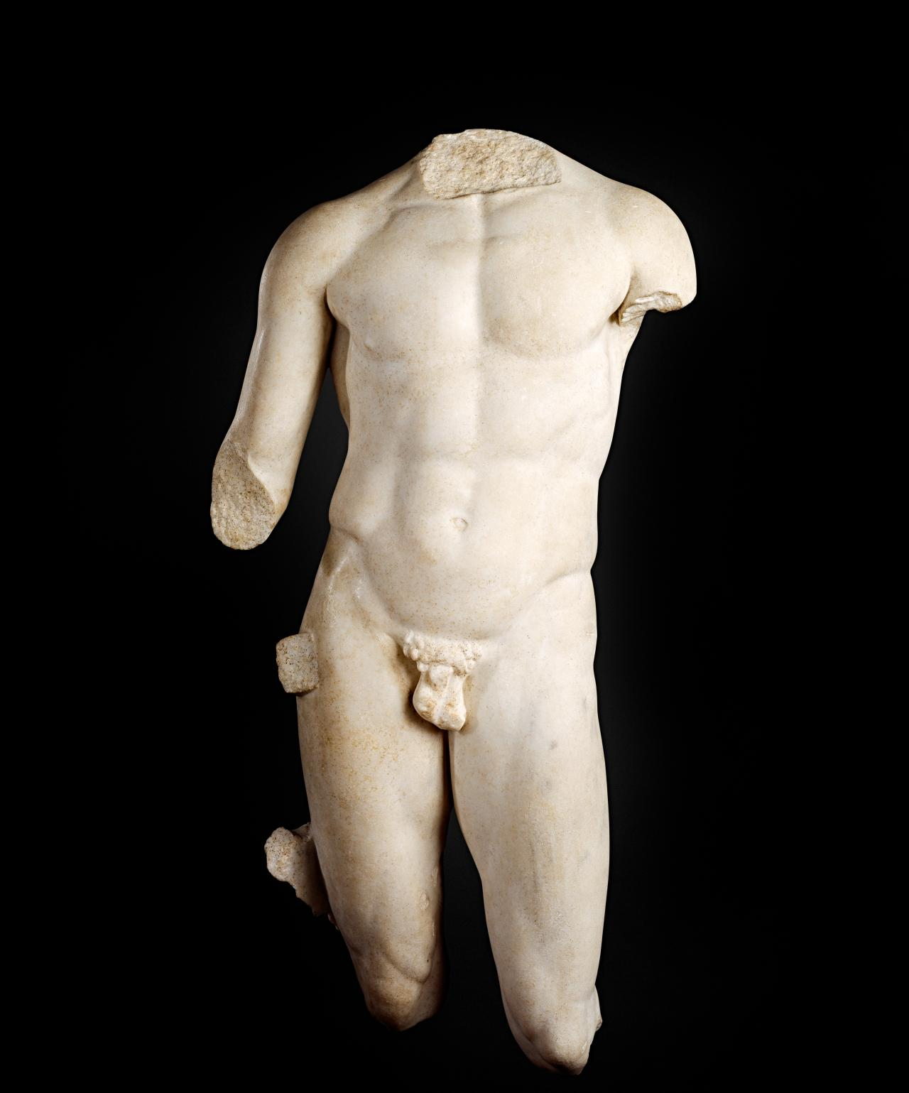 Figure of an athlete  c.1st century BC