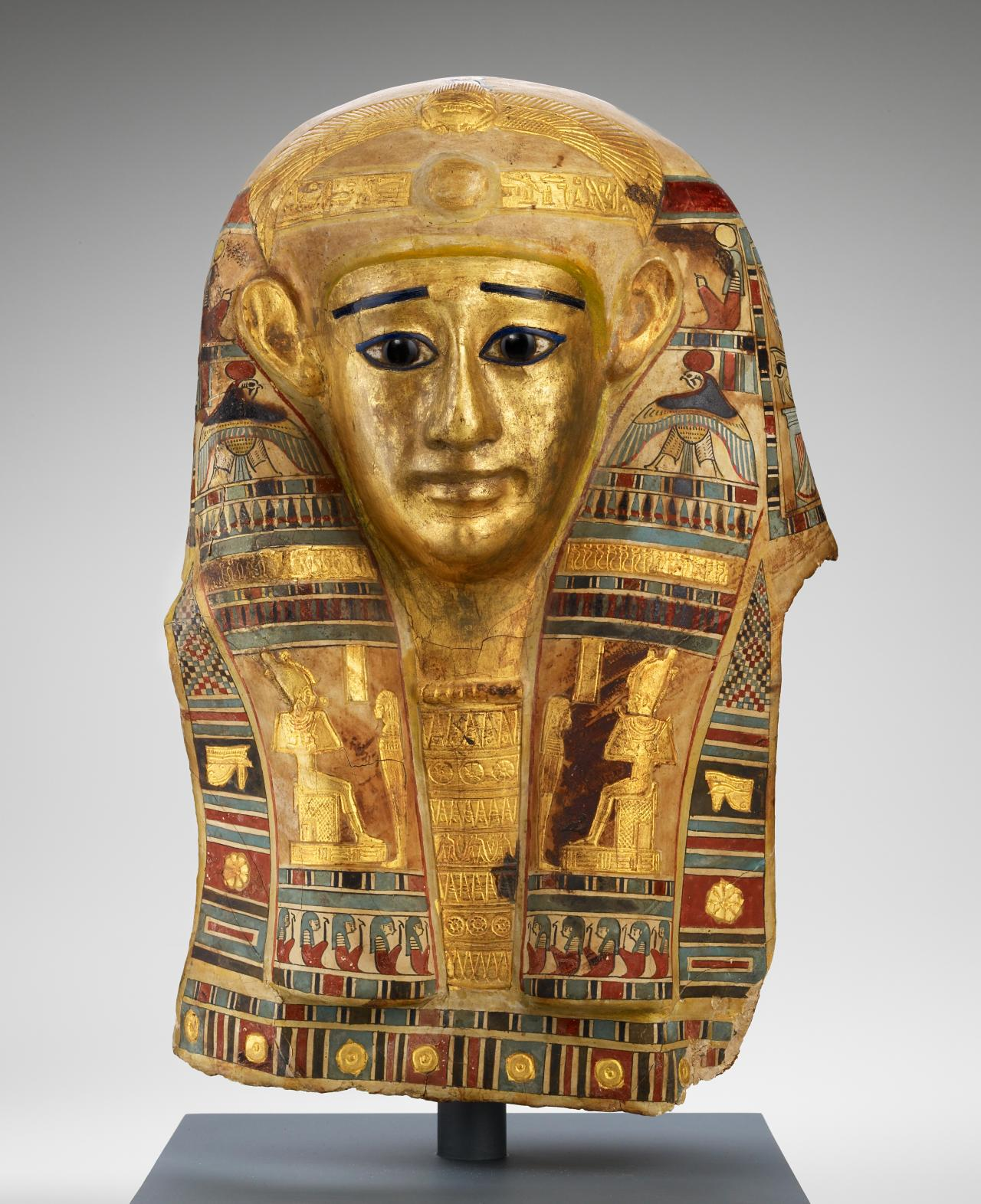 Head covering of the mummy of Pedehorpasheriesi  Egypt