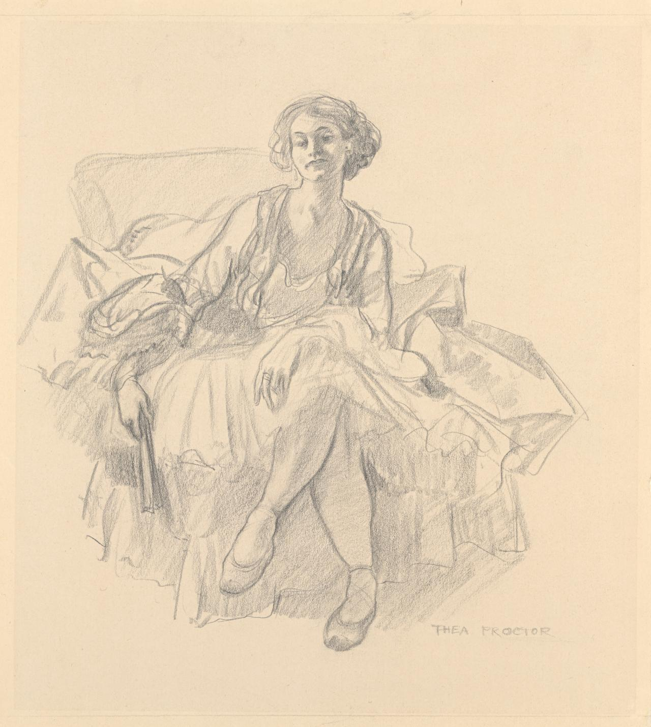 Thea Proctor in London 1910–11: her early involvement with