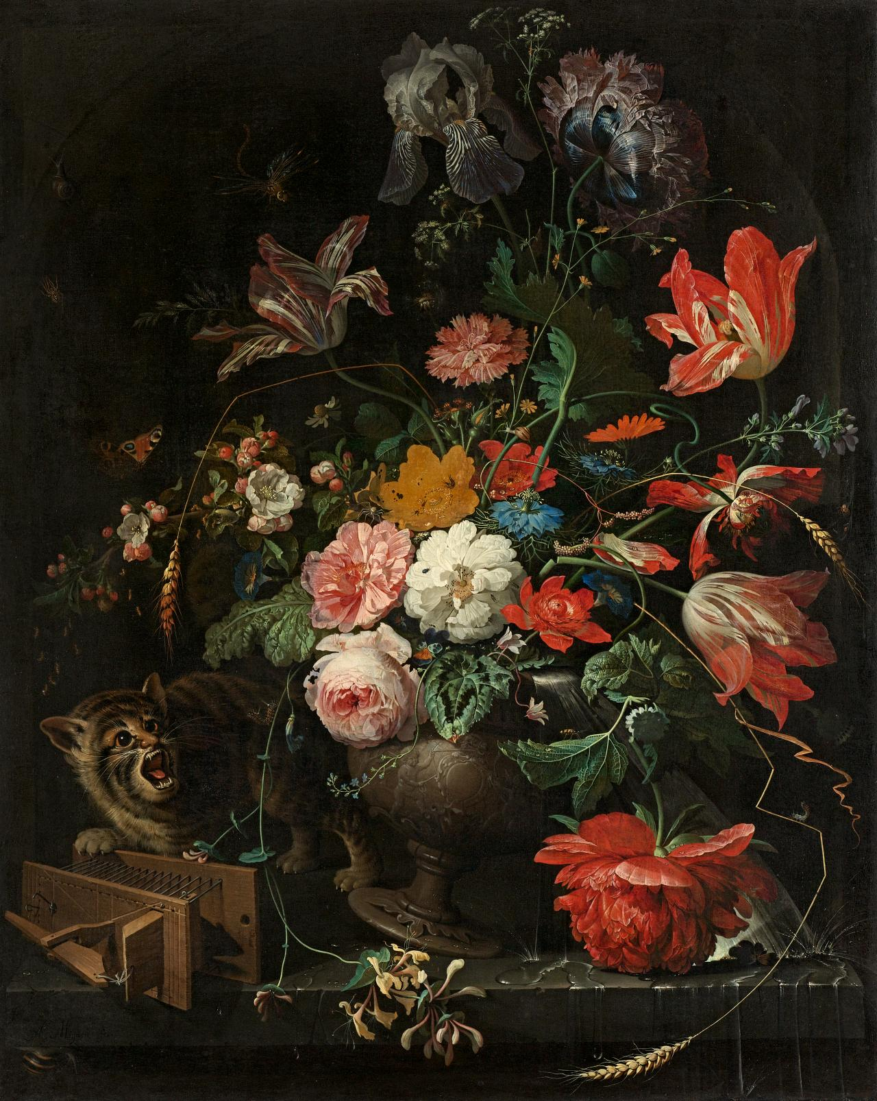Flowery borrowings notes on a dutch still life at the national all things considered it would seem most appropriate to describe the maker of the somewhat puzzling bouquet at the national gallery of victoria as a late izmirmasajfo Choice Image