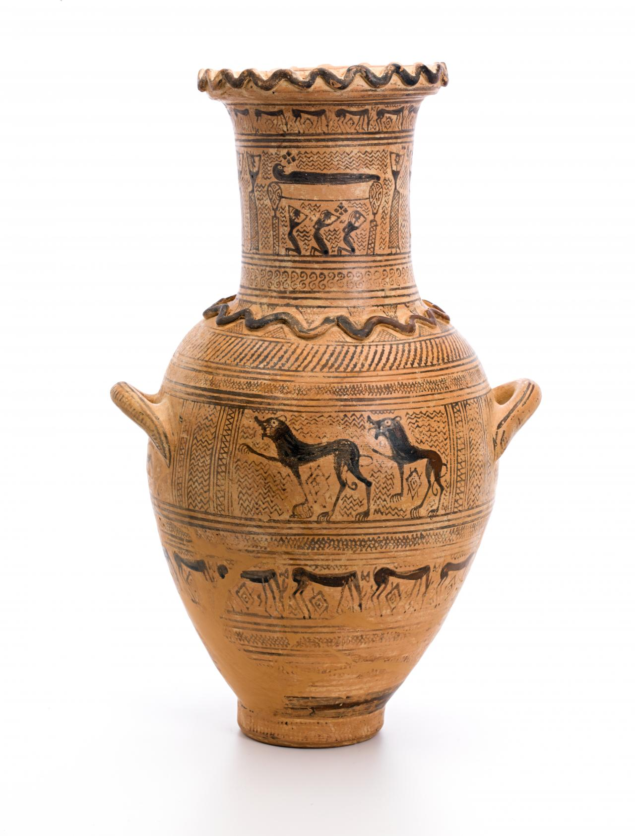 Ancient Greece Vases Drawn Vase Greek Pottery Pencil And