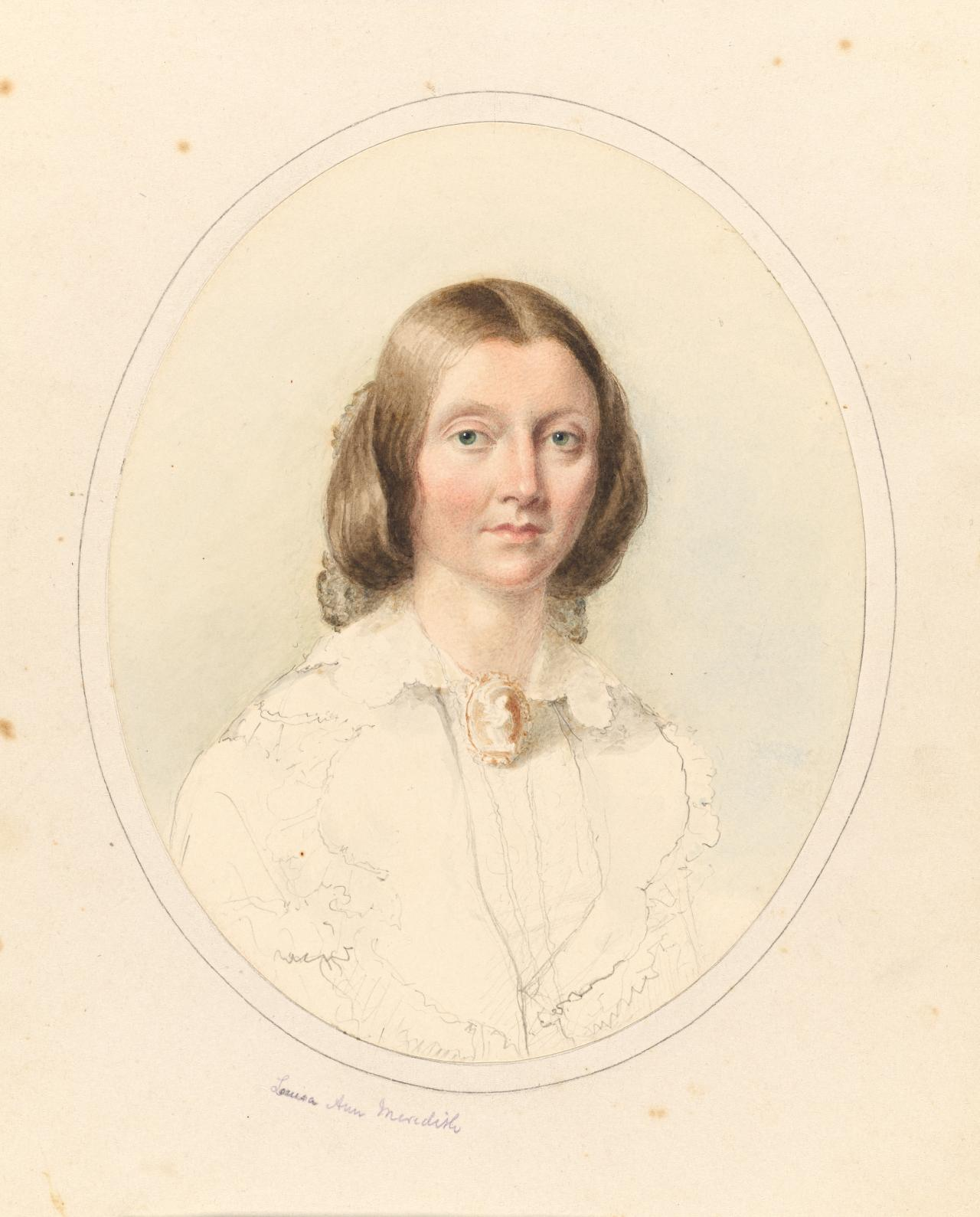 fig. 13 Georgiana McCrae Portrait of Louisa Anne Meredith c.1860 ...