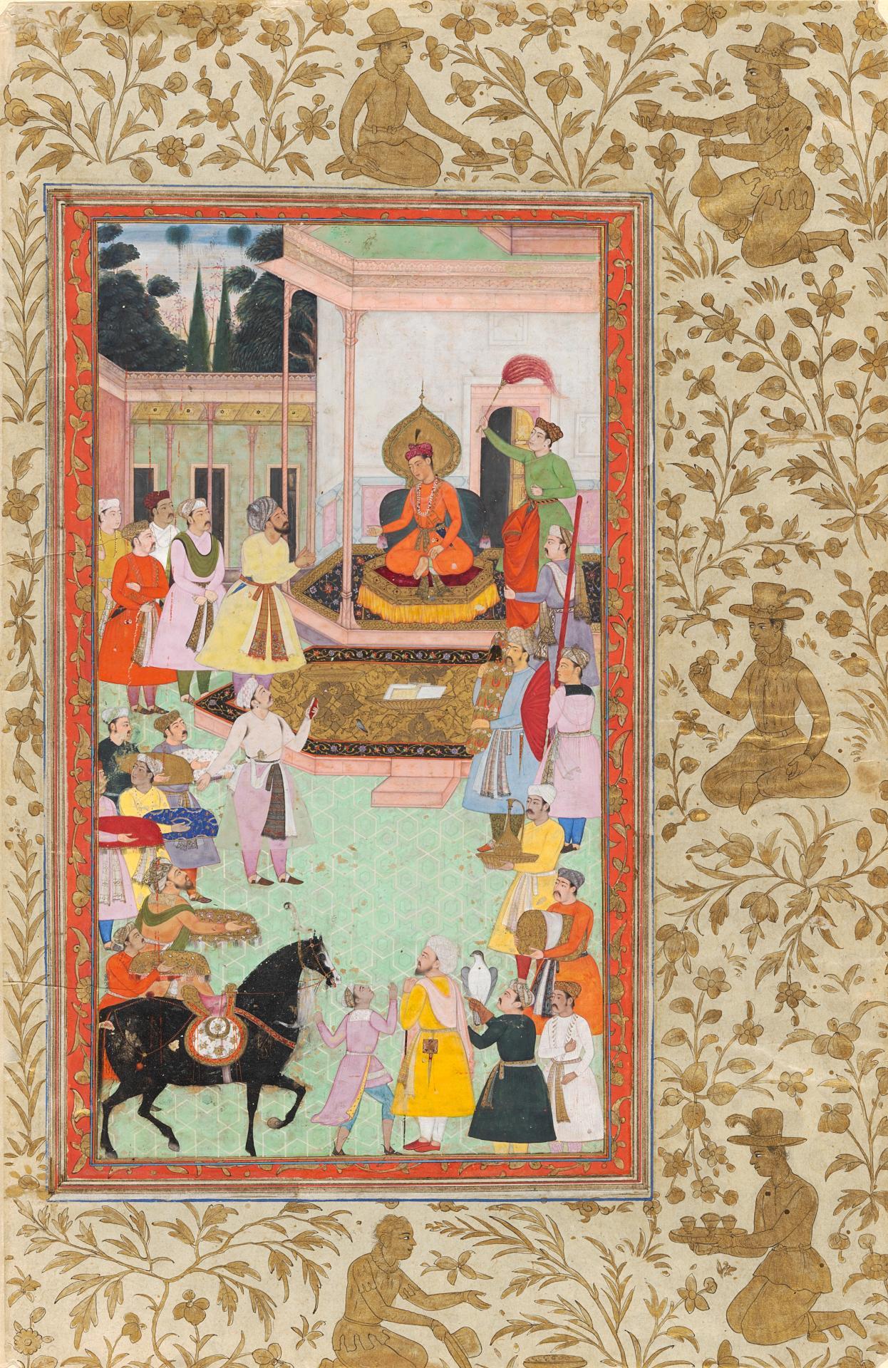 Mughal Painting Under Akbar The Melbourne Hamza Nama And