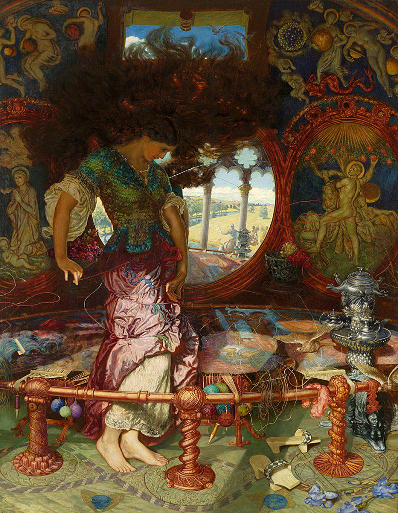 the breaking of the web william holman hunt s two early versions the breaking of the web william holman hunt s two early versions of the lady of shallot