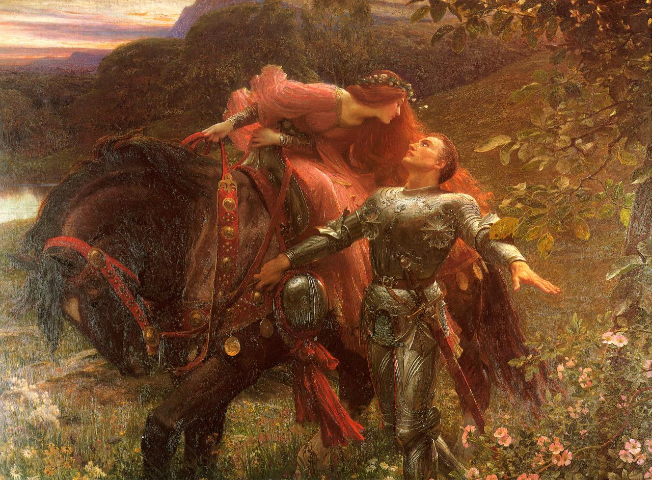 la belle dam sans merci essay La belle dame sans merci, one of john keats last works, is a ballad which tells  the story of a knight who fell in love with a mystical creature, and.