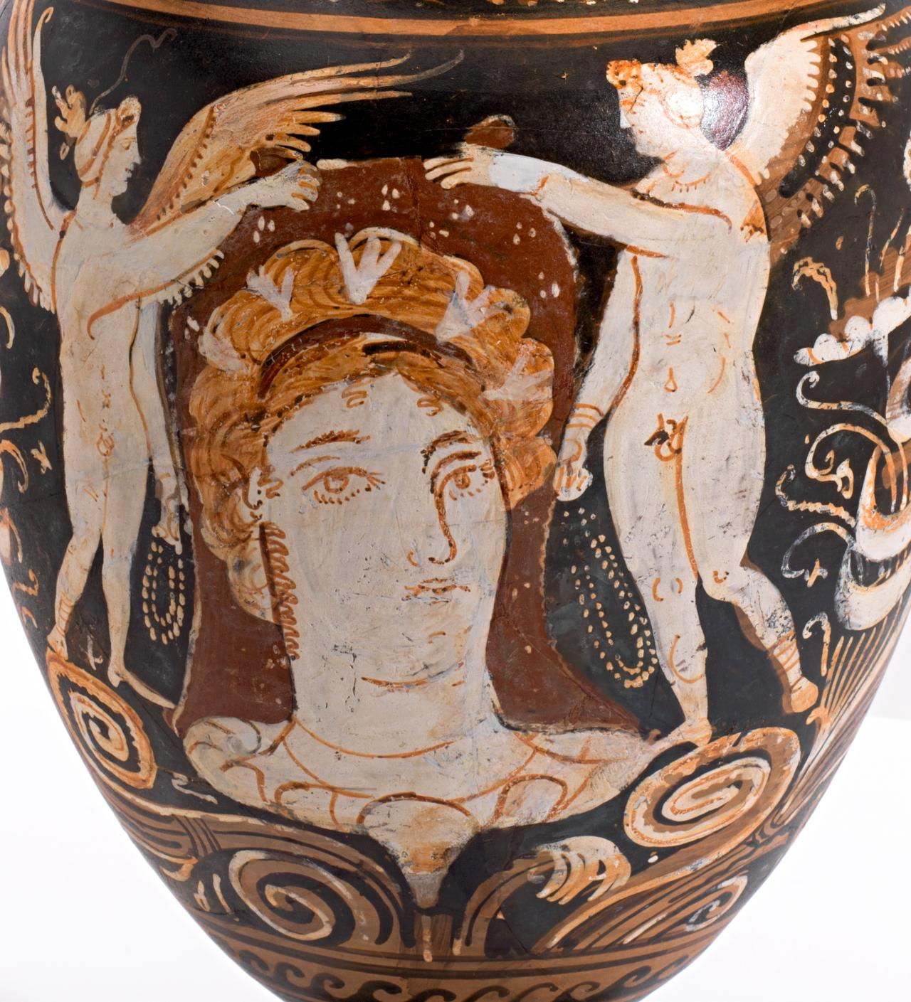 Recent additions to the collection of greek vases ngv the vase itself which is an oenochoe of the type usually referred to as shape 1 has an ovoid body a long neck and a high handle it is comparatively floridaeventfo Image collections