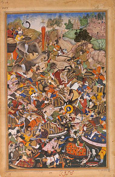 Help With University Assignments The Defeat Of Hemu Depicts The Battle Of Panipat Which Occurred On   November  The Outcome Of Which Was Critical In Akbars Struggle To  Establish His  Essay With Thesis Statement Example also Fifth Business Essays Mughal Painting Under Akbar The Melbourne Hamzanama And Akbarnama  Online Writing Communities