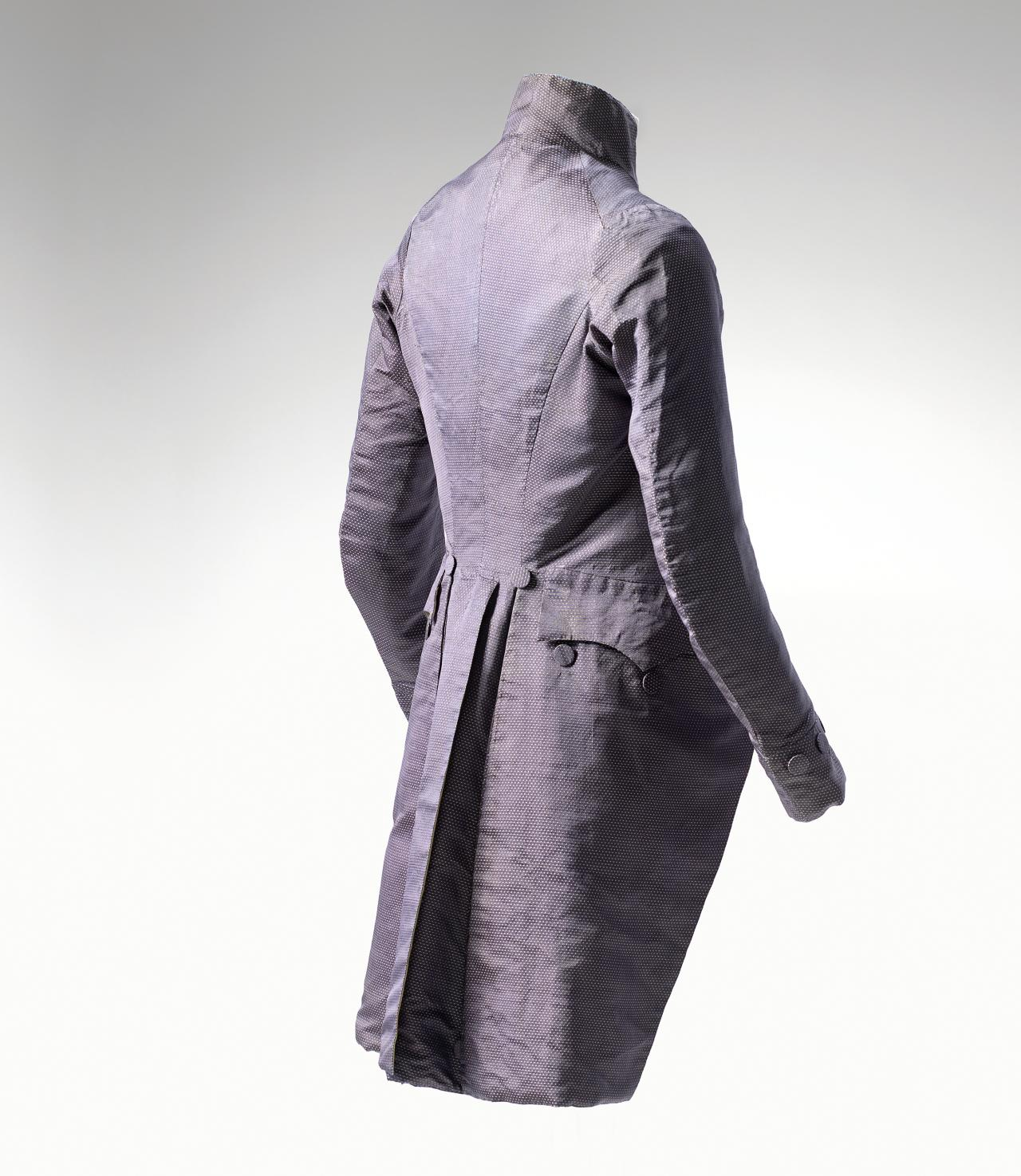 The lives of a man's eighteenth-century coat