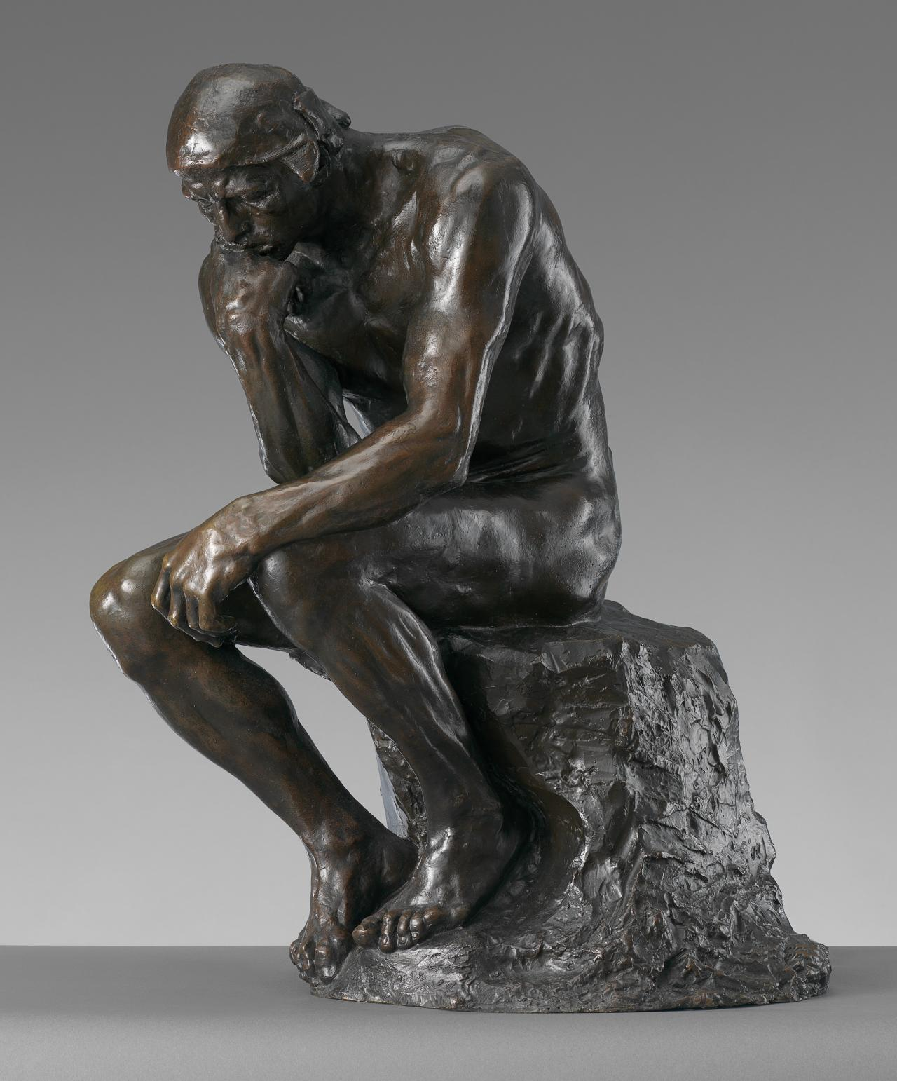 The Thinker – Auguste Rodin - famous sculptures