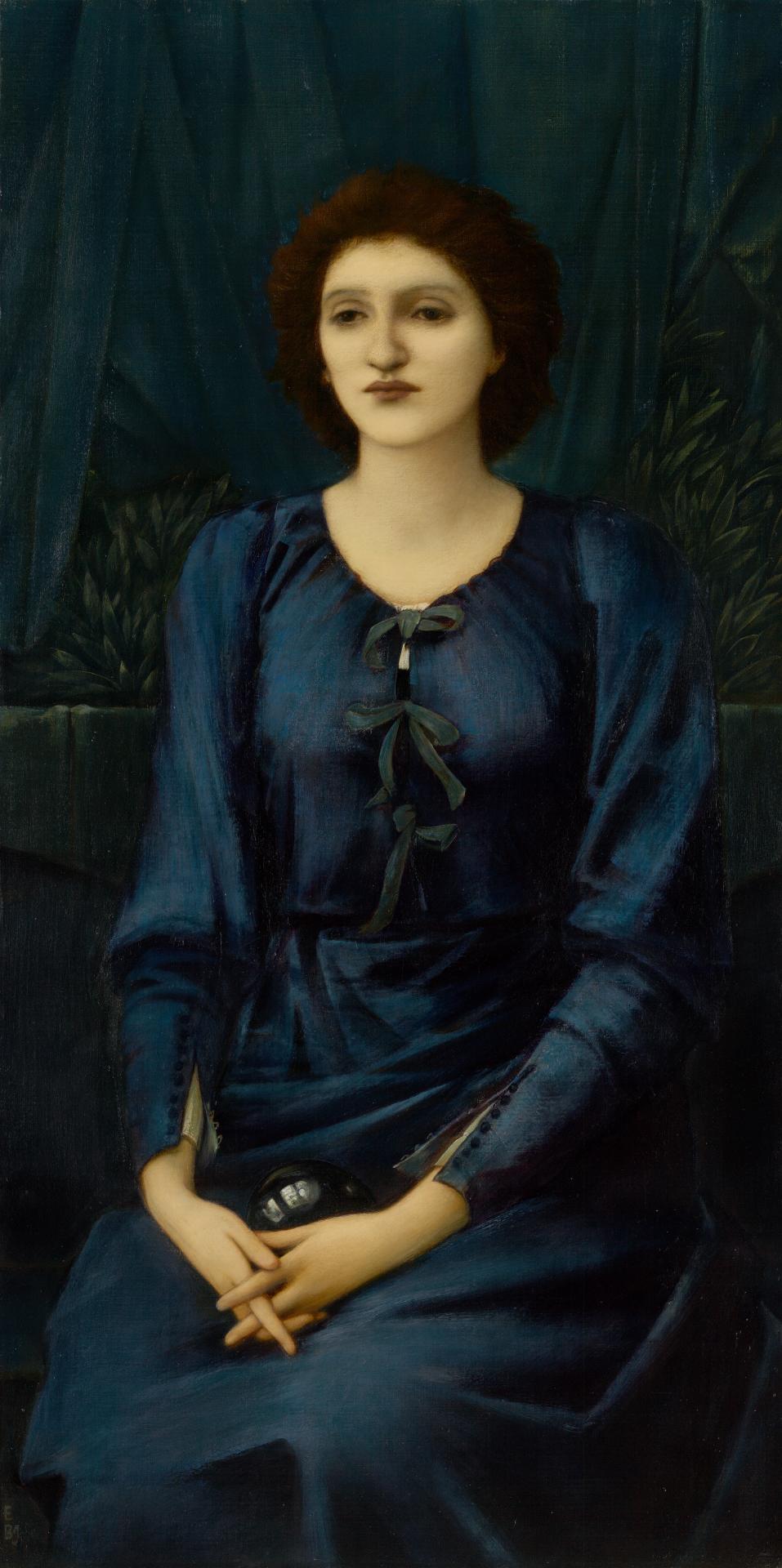 Souls edward burne jones and his portrait of baronne deslandes ngv