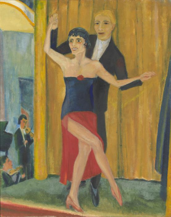 Erich Heckel Great dancing pair (Grosses tanzpaar) 1923