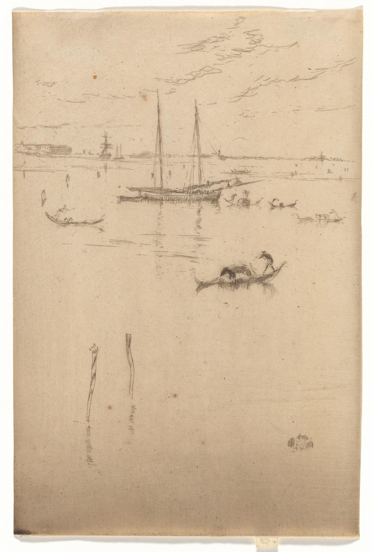 James McNeill Whistler American 1834–1903, worked in France 1855–59, England 1859–92, France 1892–95, England 1895–1903