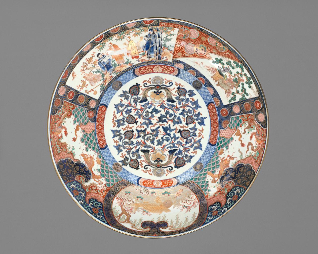 Imari porcelain: brocades of translucent colour  NGV
